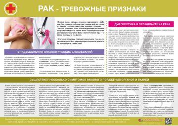 Санбюллетень Рак - тревожные признаки