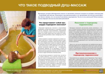 Санбюллетень Что такое подводный душ-массаж