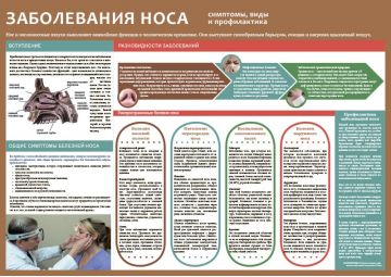 Санбюллетень Заболевания носа PDF