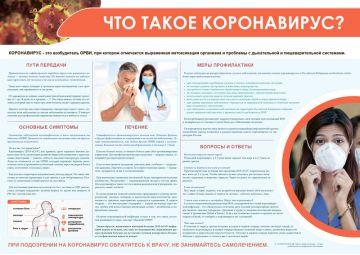 Санбюллетень Что такое коронавирус PDF