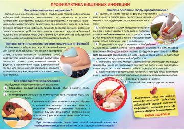 Санбюллетень Профилактика кишечных инфекций