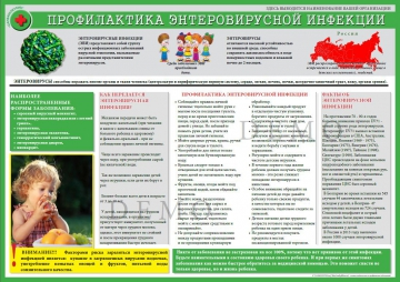 Санбюллетень Профилактика энтеровирусной инфекции