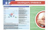 Плакат Календарь прививок