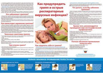 Санбюллетень Как предупредить грипп и острые респираторные вирусные инфекции